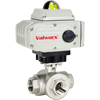 Electric Actuated Stainless 3-Way Ball Valves - On/Off