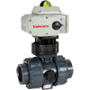 Electric Actuated PVC Ball Valves - On/Off