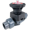 Full Port PVC Diaphragm Valves