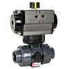 Air Actuated PVC Ball Valves- Rack & Pinion