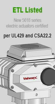 Valworx ETL Listed Electric Actuator UL429
