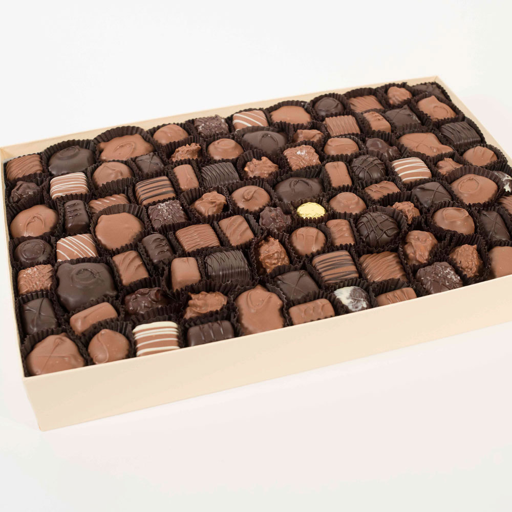 Assorted Milk & Dark Chocolates - 5 lb. Box