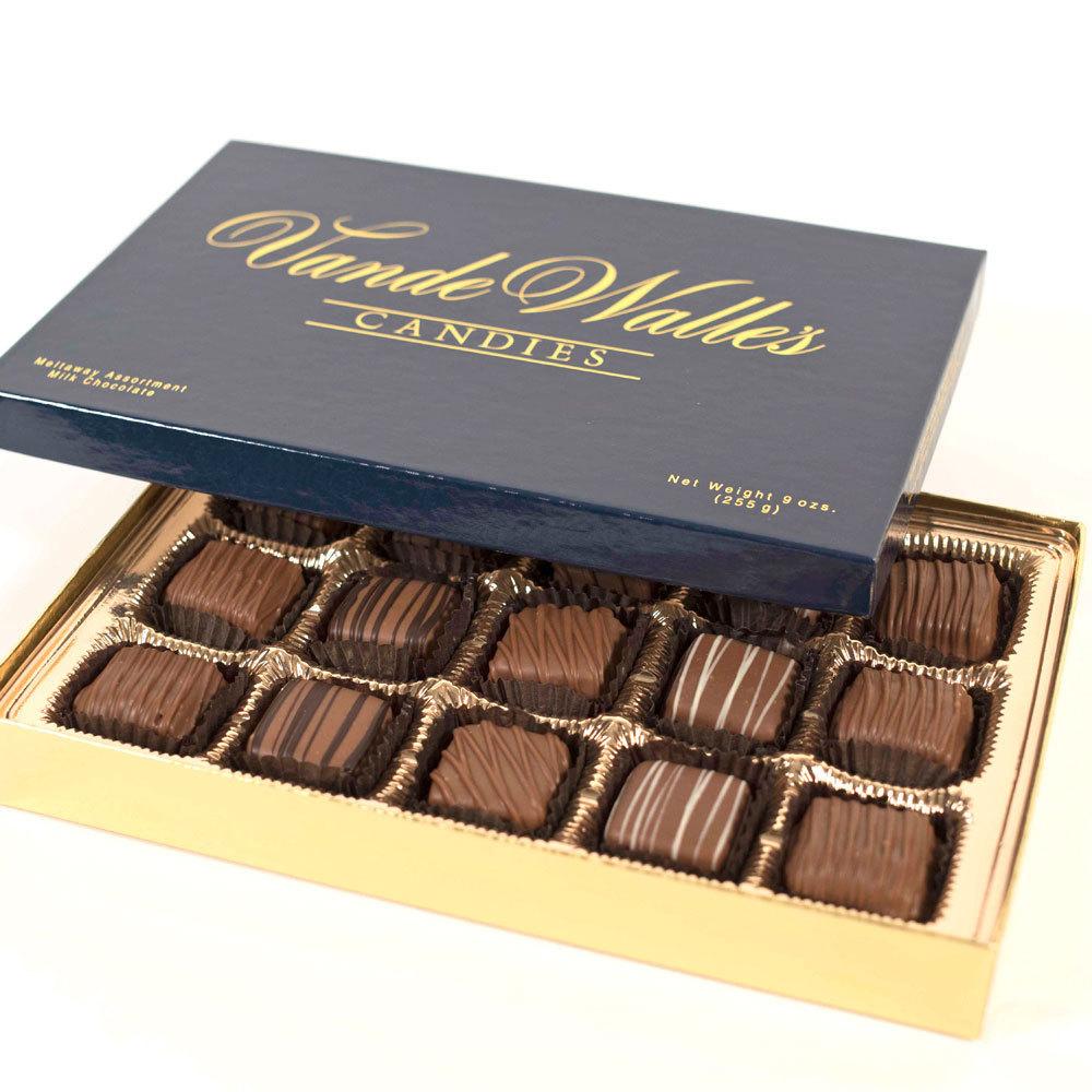 Assorted Meltaways, Milk Chocolate - 9 oz. Box (15 pc)