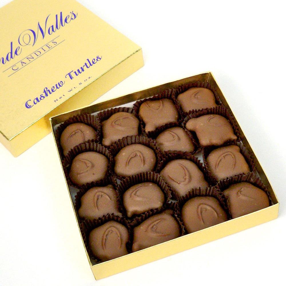 Cashew Paws (Turtles), Milk Chocolate - 8 oz. Box