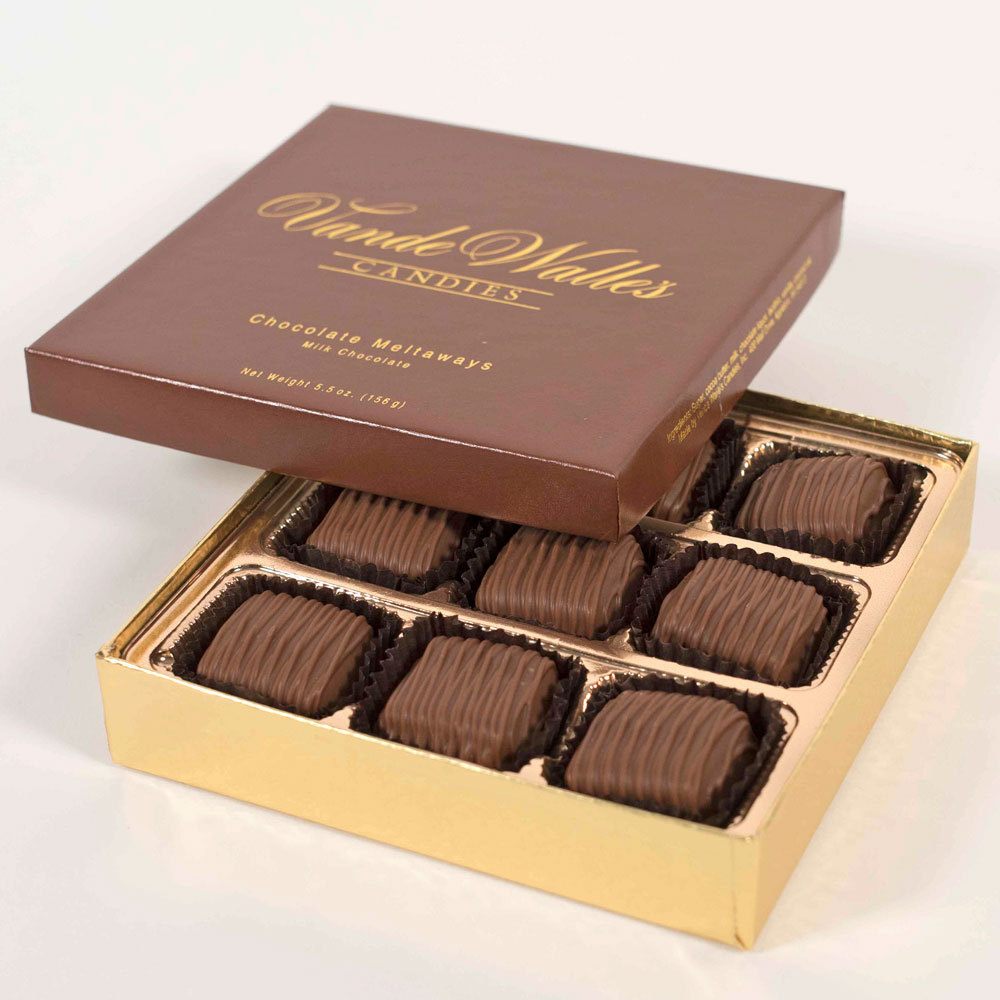Chocolate Meltaways, Milk Chocolate - 5.5 oz. Box (9 pc)