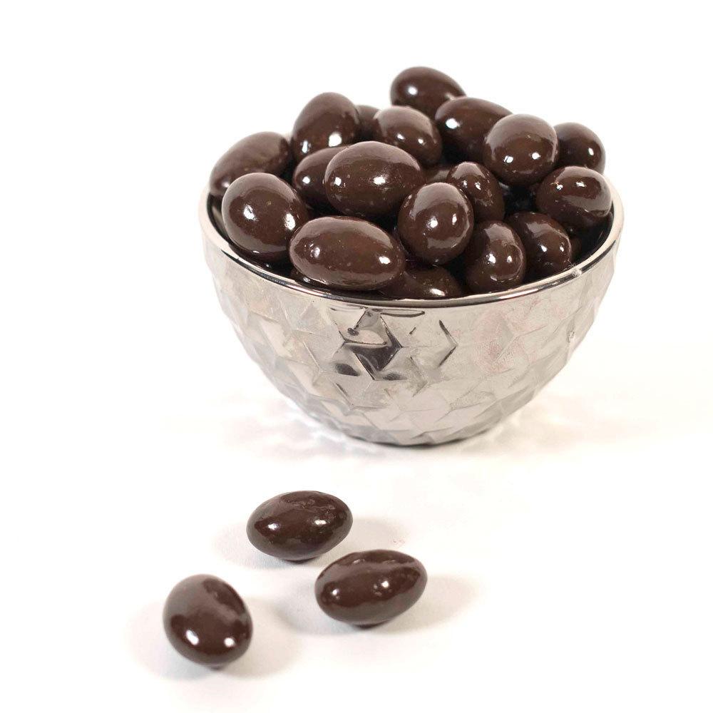 Dark Chocolate Almonds - 8 oz. Bag