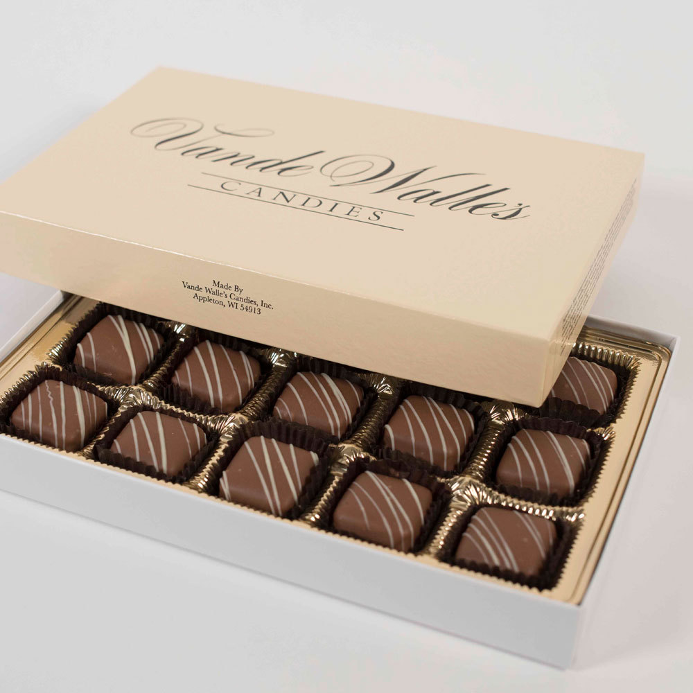 French Vanilla Meltaways, Milk Chocolate - 9 oz. Box (15 pc)