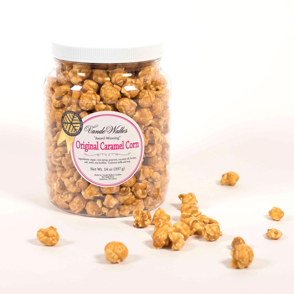 Gourmet Caramel Corn, Award-Winning - 14 oz. Jar