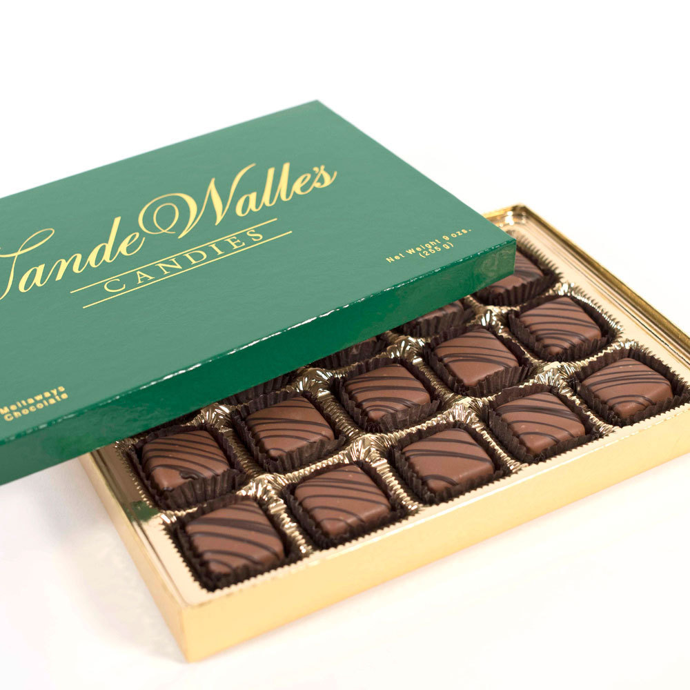 Mint Meltaways, Milk Chocolate - 9 oz. Box (15 pc)