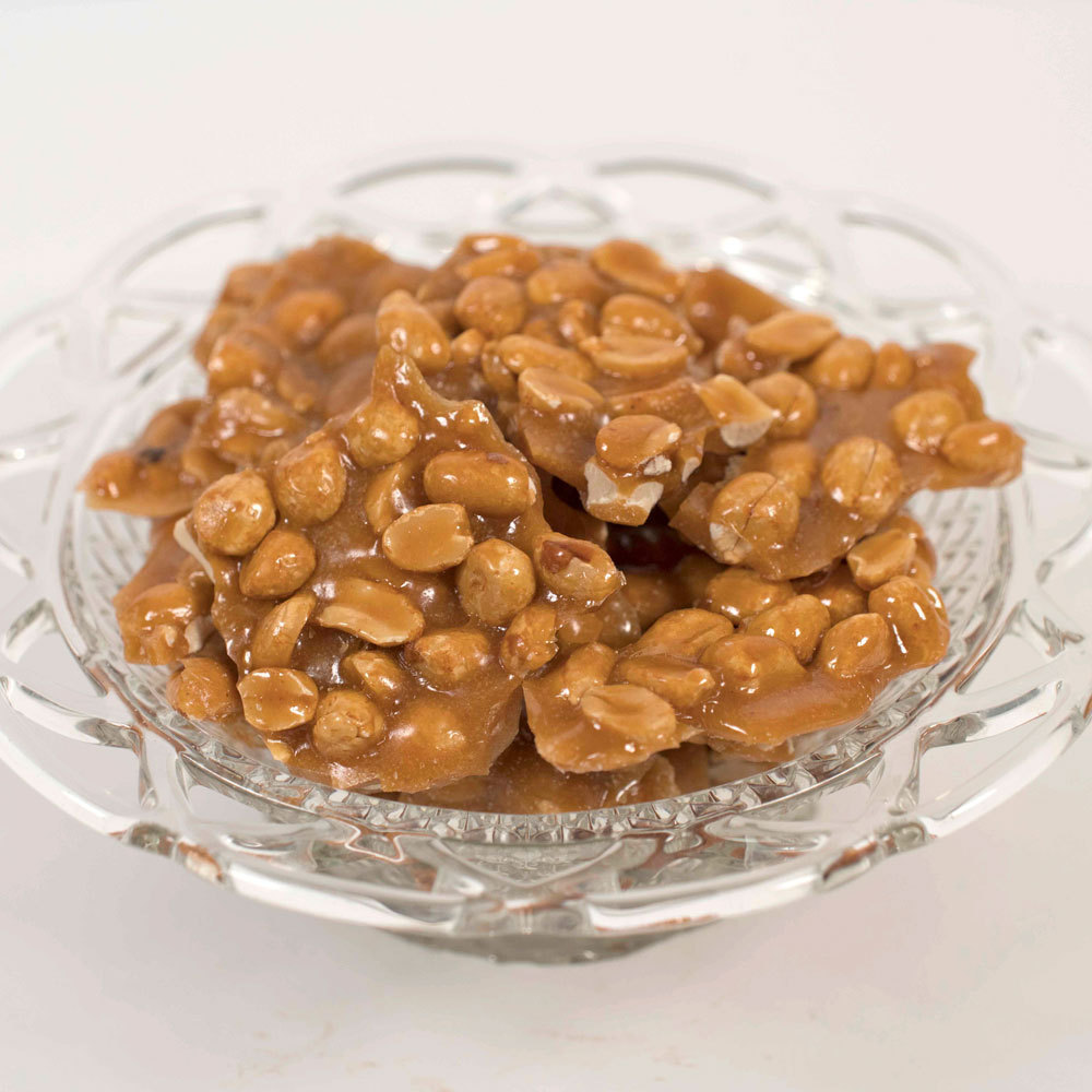 Traditional Dark Peanut Brittle - 10 oz. Bag