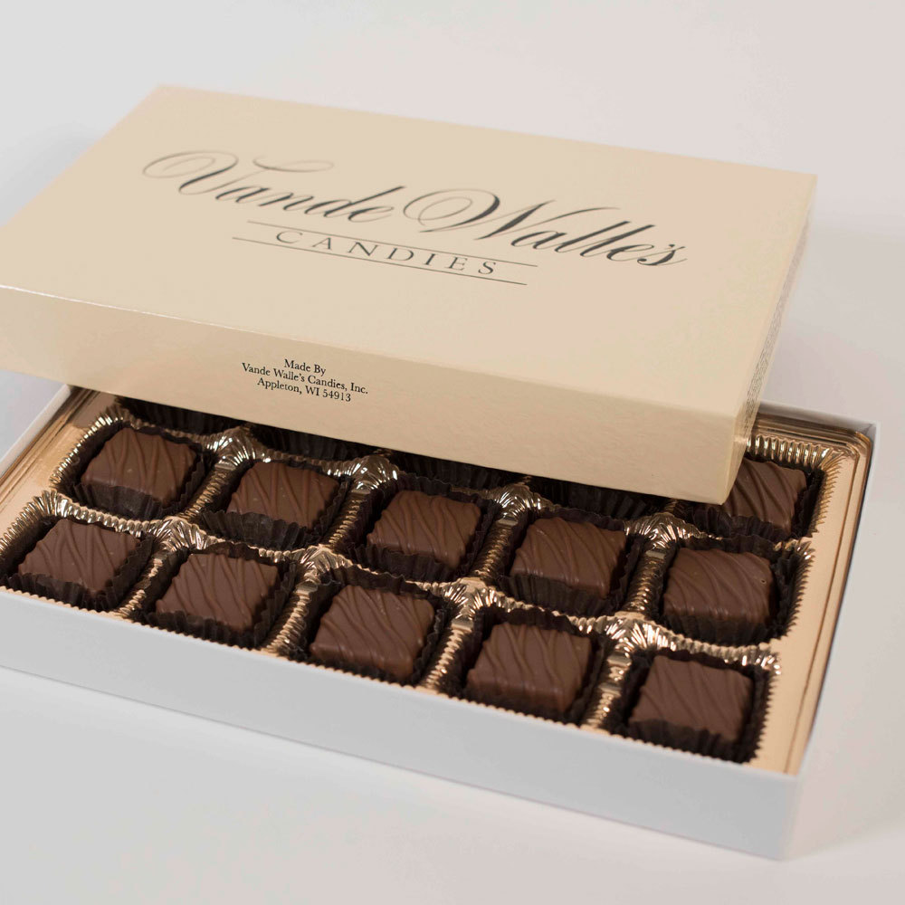 Peanut Butter Meltaways, Milk Chocolate - 9 oz. Box (15 pc)