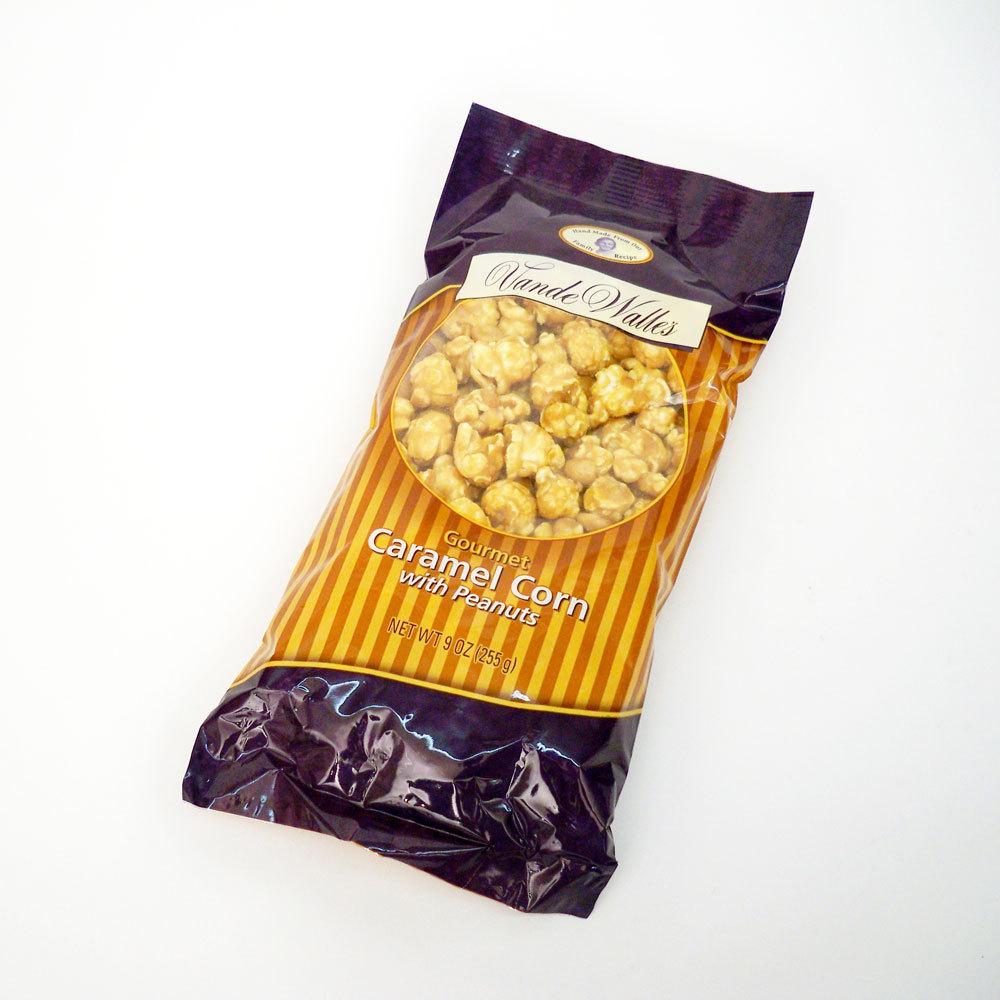 Gourmet Caramel Corn with Peanuts, Award-Winning - 9 oz. Bag
