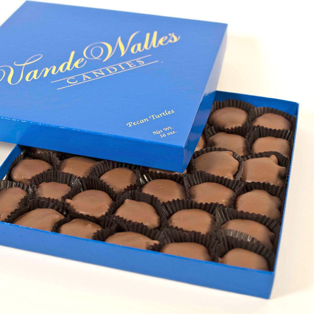 Pecan Paws (Turtles), Milk Chocolate - 1 lb. Box