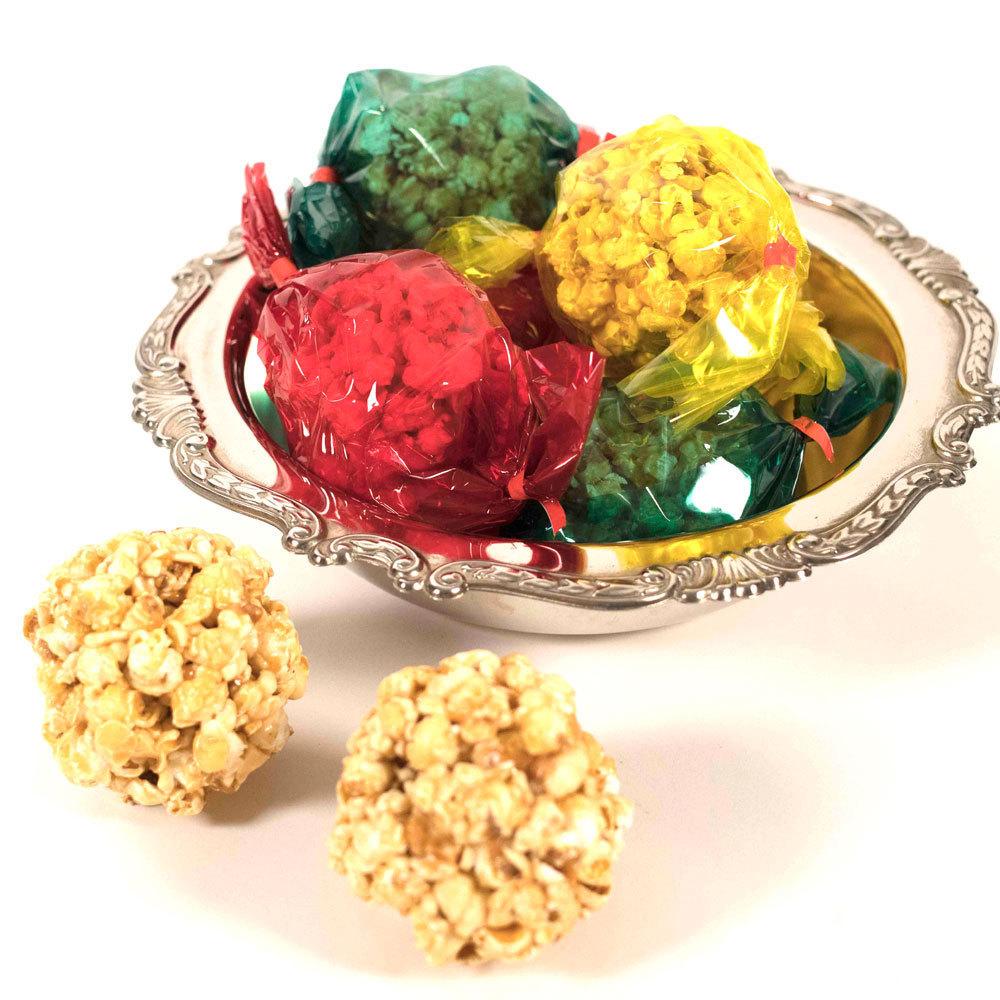 Hand Made Popcorn Balls - Bag of 6