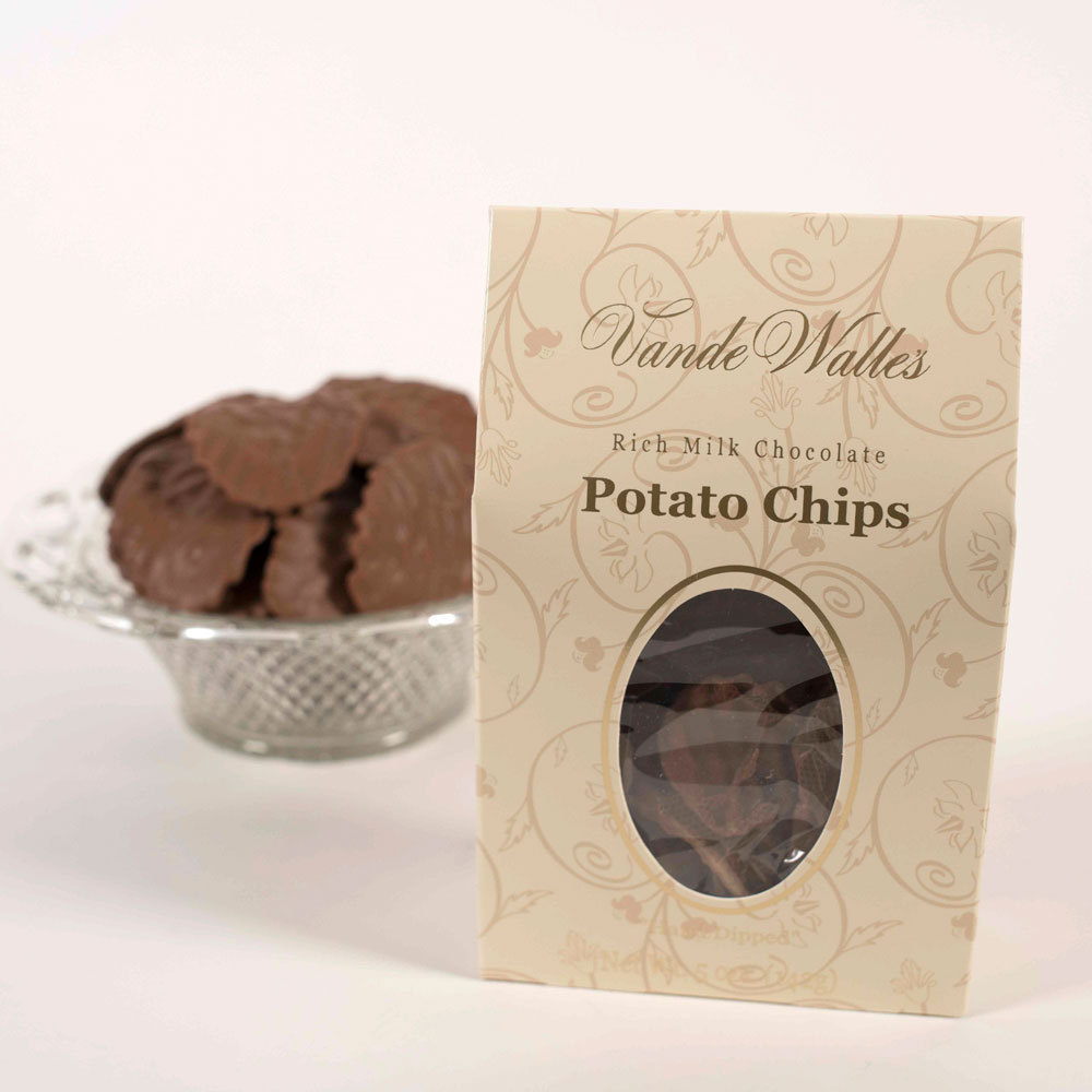 Milk Chocolate Covered Potato Chips - 5 oz. box