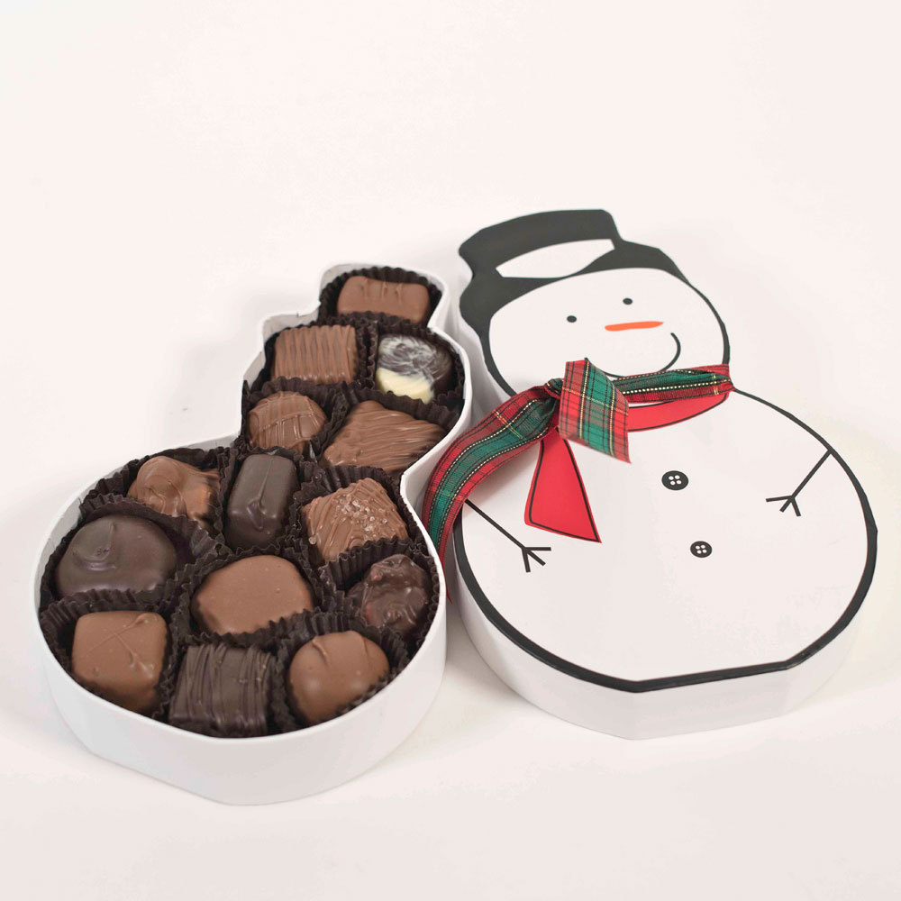Snowman Box - Assorted Chocolates - 7 oz.