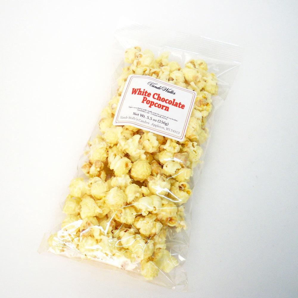 White Chocolate Popcorn - 5.5 oz. Bag
