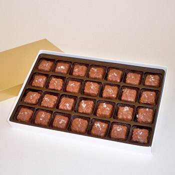 Sea Salt Caramels, Milk Chocolate - 18 oz Box (28 pcs)