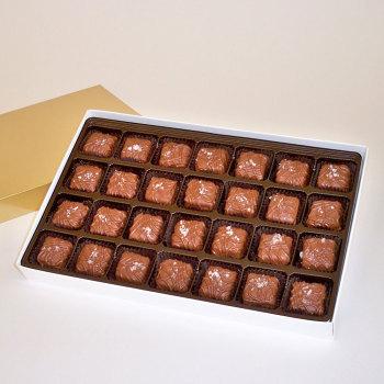 Sea Salt Caramels, Milk Chocolate - 18 oz Box (28 pcs)