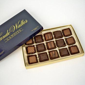 Assorted Meltaways, Milk & Dark Chocolate - 15 Pcs.