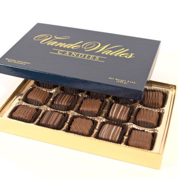 Assorted Meltaways, Milk Chocolate - 9 oz. Box (15 pc)