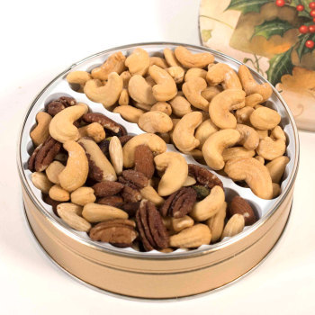 Deluxe Mixed Nuts / Jumbo Cashew Gift Tin