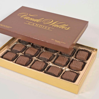 Chocolate Meltaways, Milk Chocolate - 9 oz. Box (15 pc)