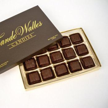 Chocolate Meltaways, Dark Chocolate - 9 oz. Box (15 pc)