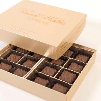 English Toffee,  Milk Chocolate - 1 lb. Box