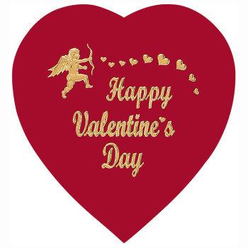 Happy Valentine's Day Heart,  8 oz.