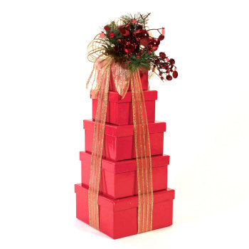 A Christmas To Remember Holiday Gift Tower