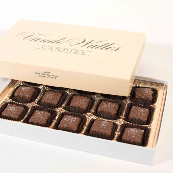 Sea Salt Caramels, Milk Chocolate  (15 pc)