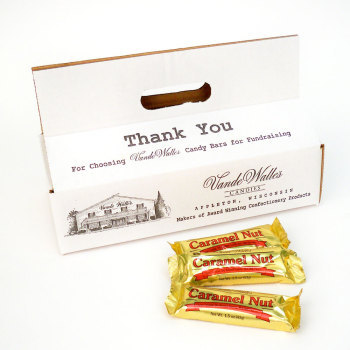 Tote Box of Caramel Nut Bars - 40 count