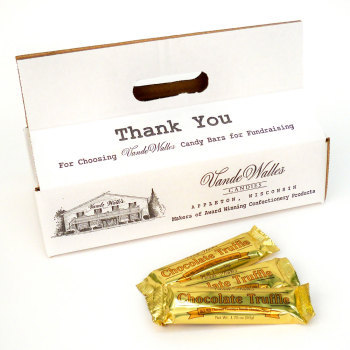 Tote Box of Chocolate Truffle Bars - 40 count