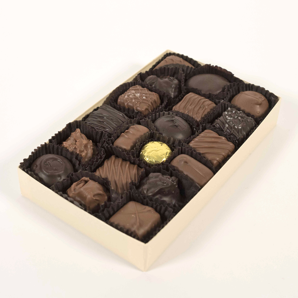 Assorted Milk Chocolates - 8 oz. Box