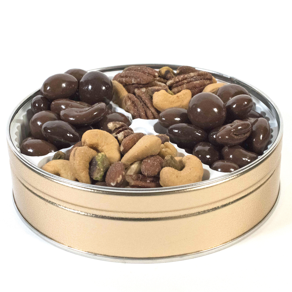 Gourmet Mixed Nuts & Deluxe Mixed Nuts Gift Tin