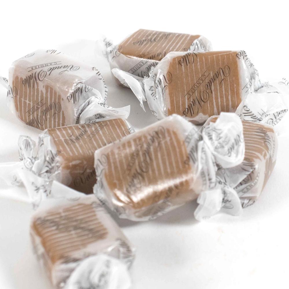 Wrapped Vanilla Caramels, 200 Pc. Bulk