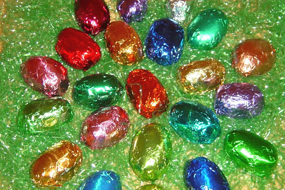 Marshmallow Easter Eggs