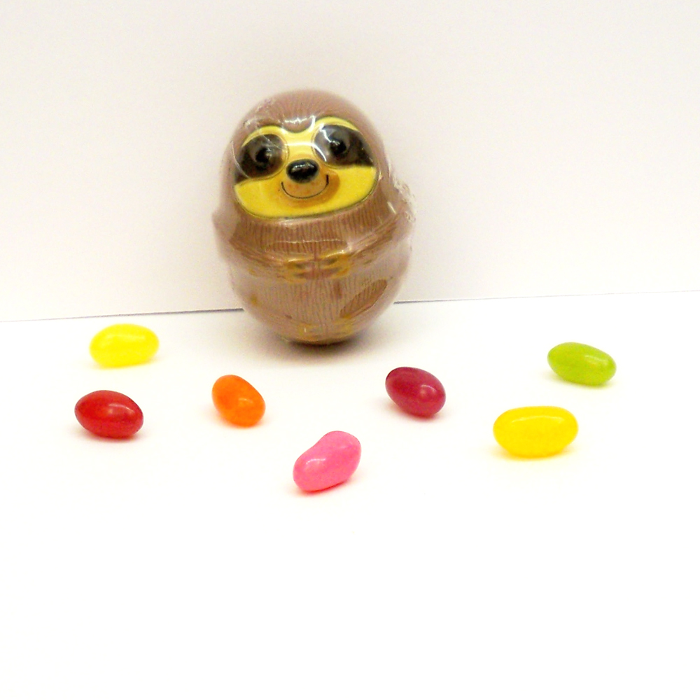 Sloth Egg with Jelly Beans