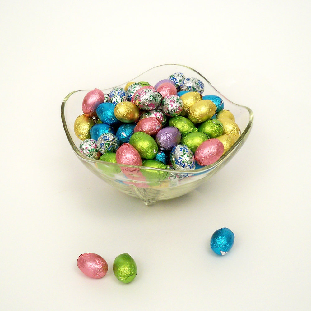 Foil Wrapped Eggs - Milk Chocolate