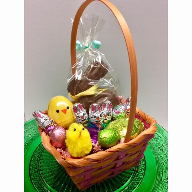 Roly Poly Easter Basket