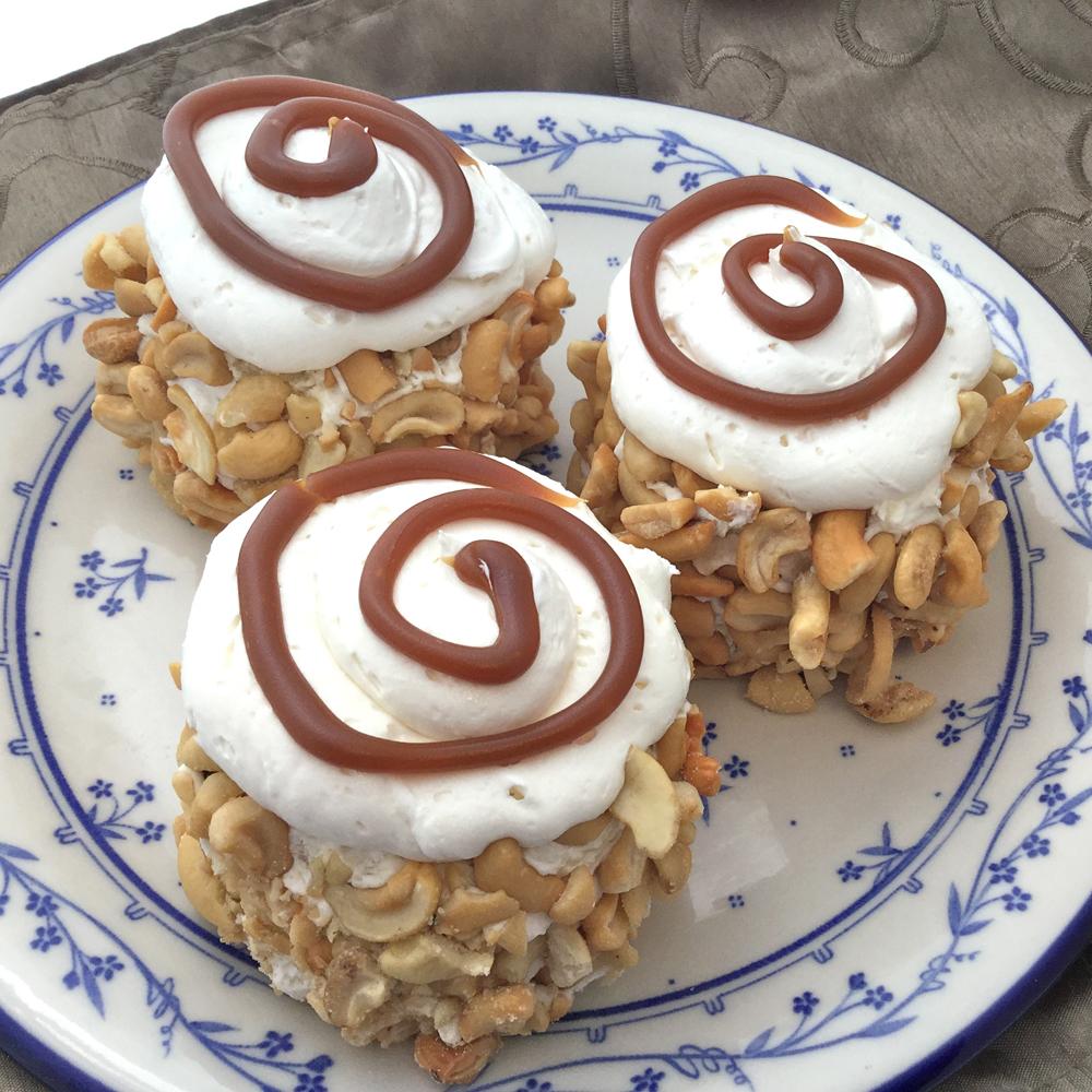 Caramel Cashew Desserts