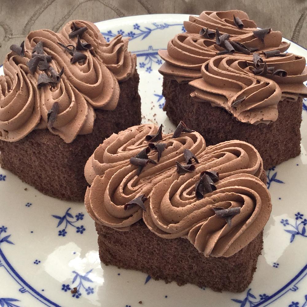 Chocolate Truffle Square Dessert
