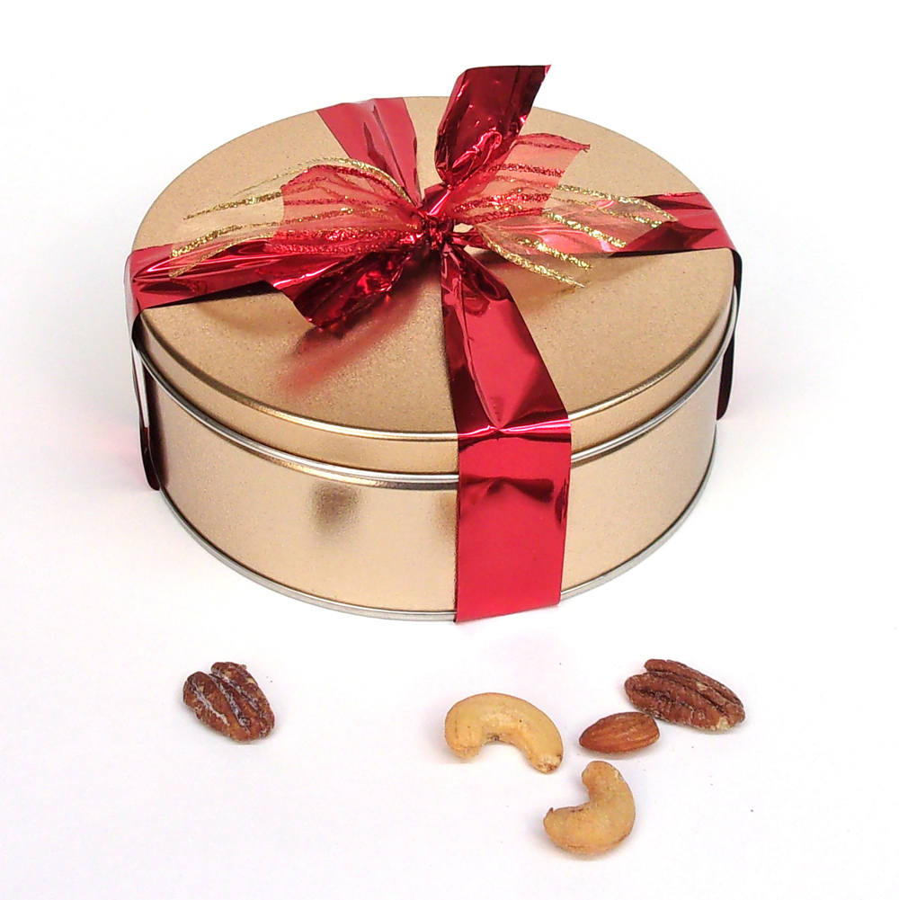 Deluxe Mixed Nuts Gift Tin