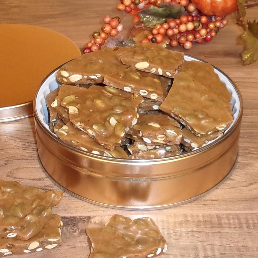 Pumpkin Spice Brittle Gift Tin