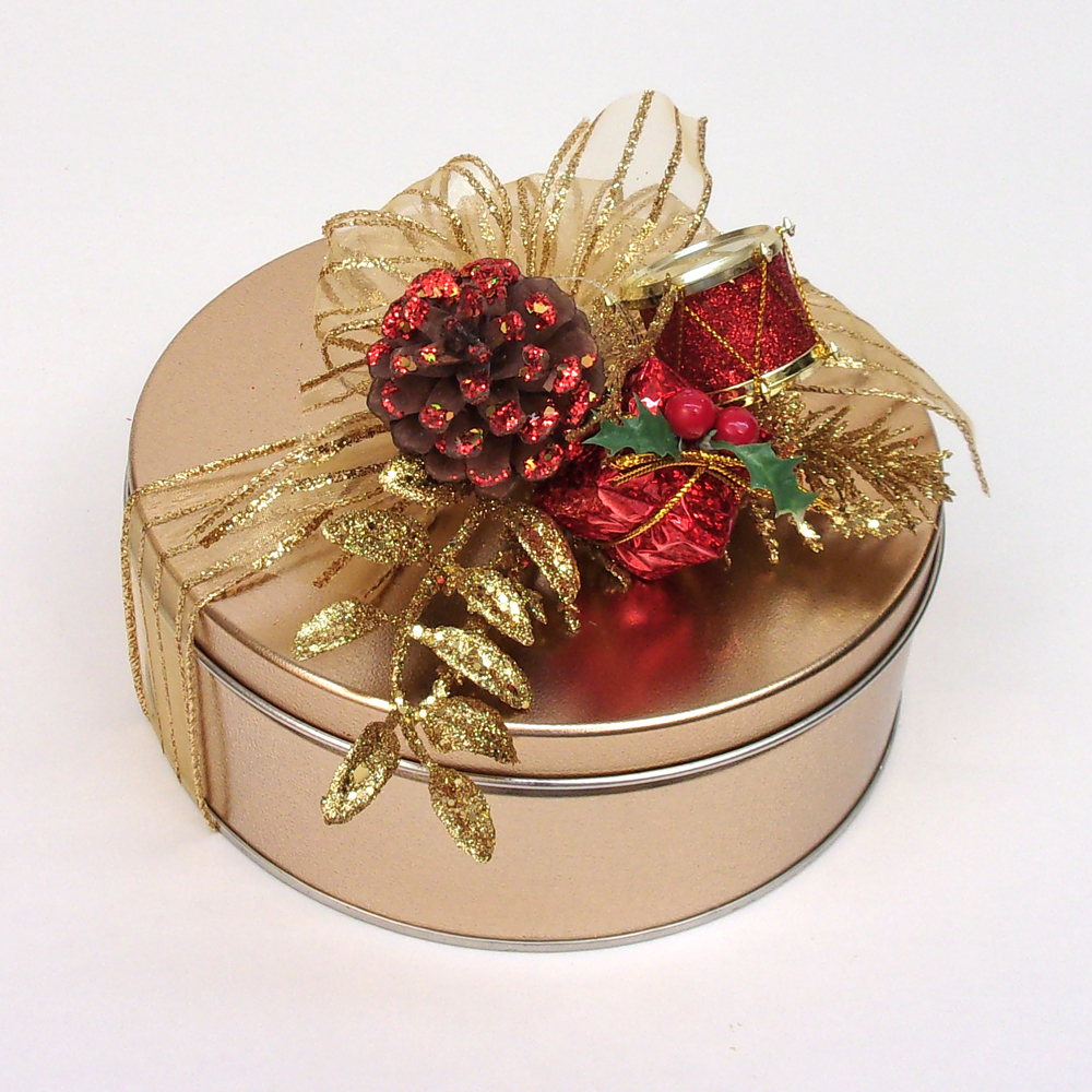 Deluxe Mixed Nut Brittle Gift Tin