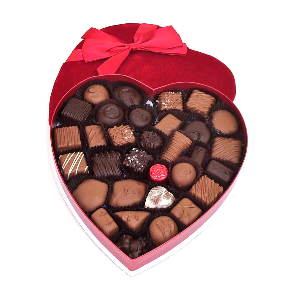 Valentine's Day Red Velvet Heart