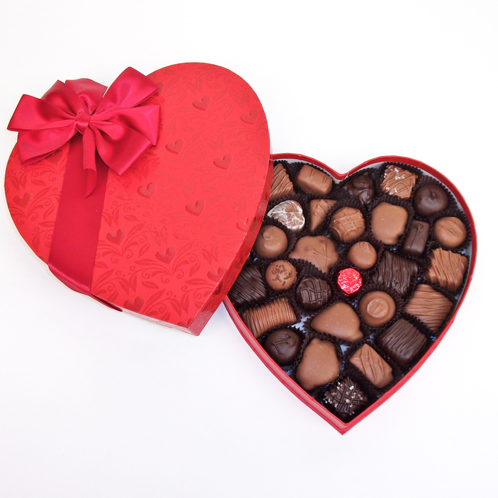 """Valentine's Day """"With Love"""" Heart"""