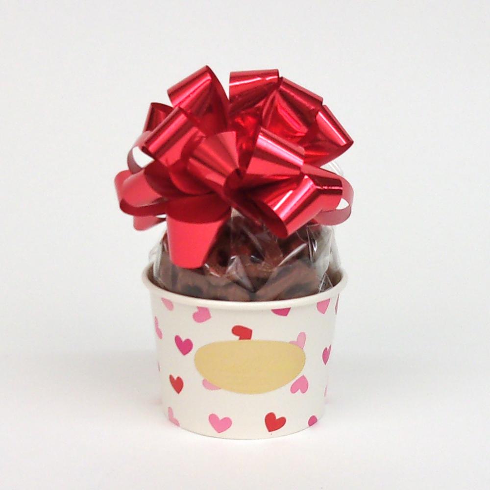 Valentine's Day Pretzel cup