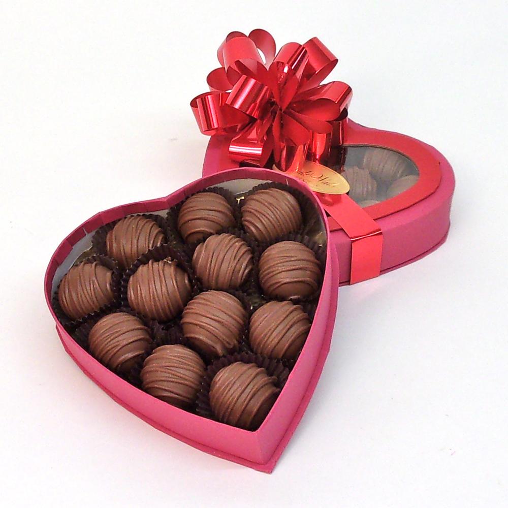 Valentine Chocolate Truffle Heart